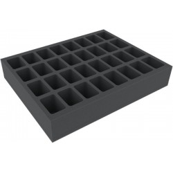 Feldherr 60 mm (2.4 inches) foam tray with 32 slots - full-size