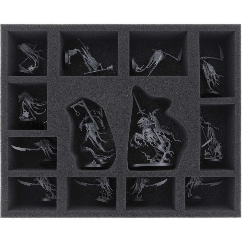 Feldherr 55 mm (2.3 inches) foam tray for Age of Sigmar: Soul Wars - Nighthaunt