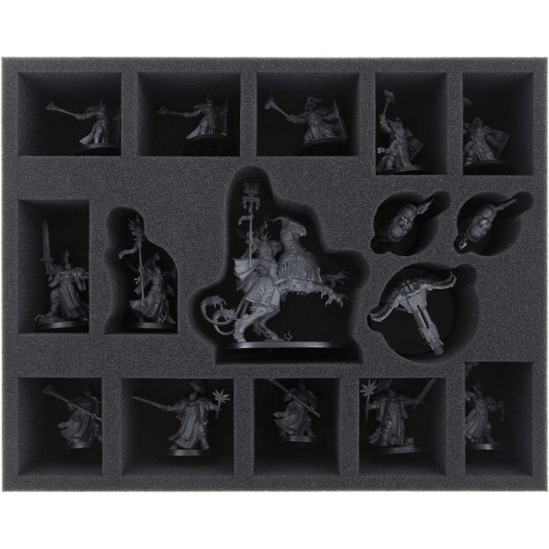 Feldherr 65 mm (2.8 inches) foam tray for Age of Sigmar: Soul Wars - Stormcast Eternals