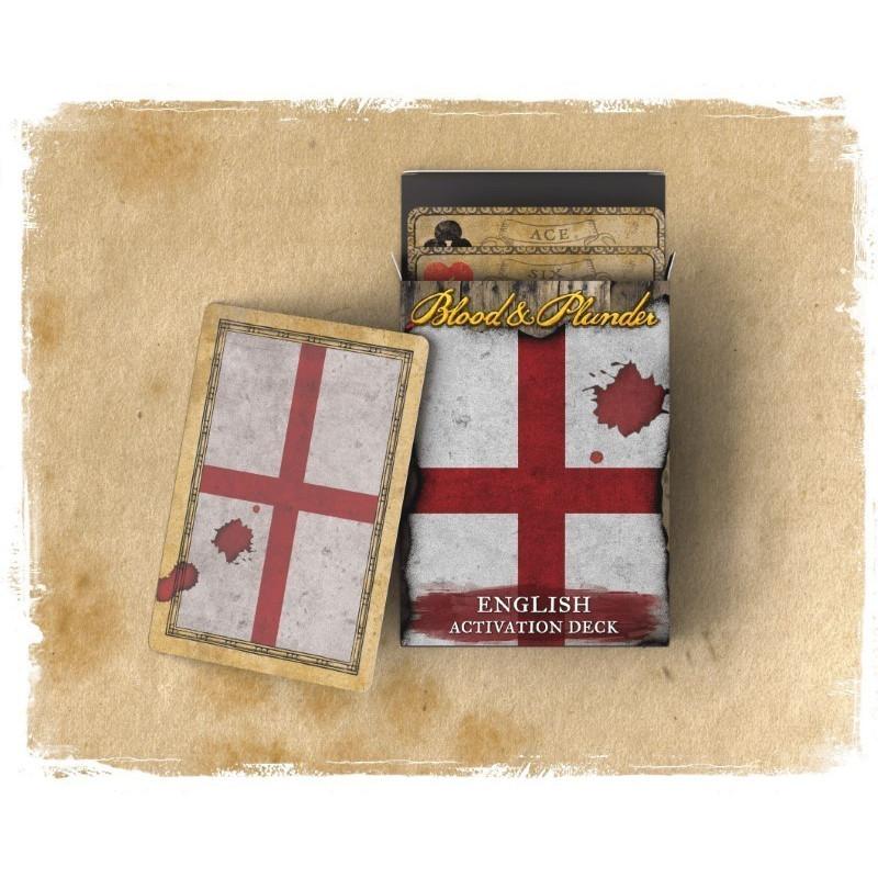 Blood & Plunder : English Activation Deck