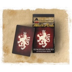 Blood & Plunder : European Forces Activation Deck