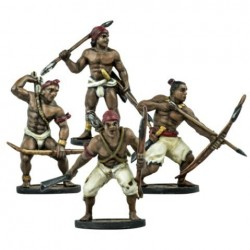 Native American : African Warriors Unit