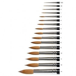 Series 7 Kolinsky Sable Brush 7-0