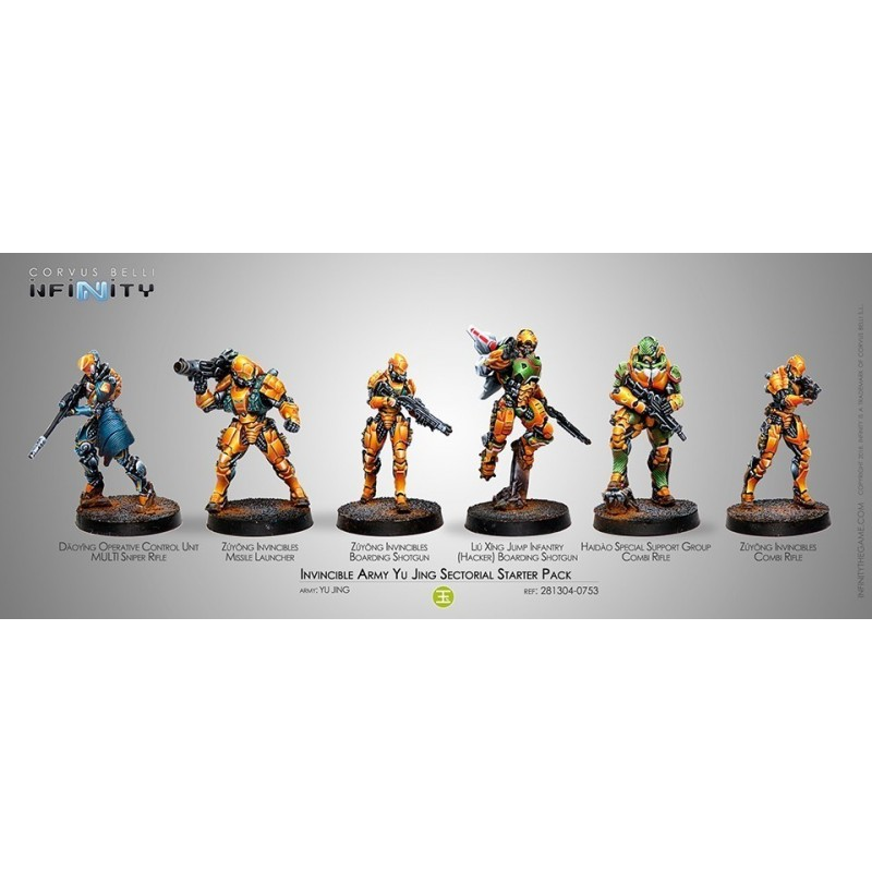 Invincible Army Sectorial Army Starter Pack