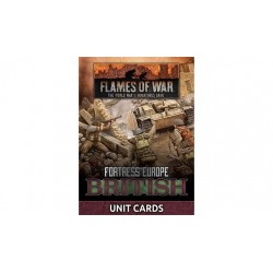 Fortress Europe British Unit Cards