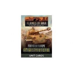 Fortress Europe German Unit Cards
