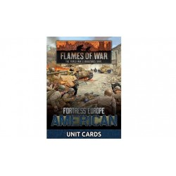 Fortress Europe American Unit Cards