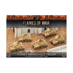Honey Armoured Troop (Plastic)