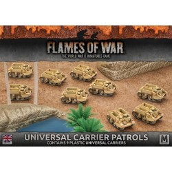 Universal Carrier Patrols (Plastic)