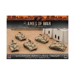 Sherman Armoured Troop (Plastic)