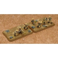 MMG Platoon & Mortar Section (Plastic)