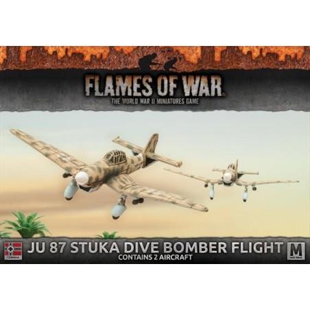 Ju 87 Stuka Dive Bomber Flight
