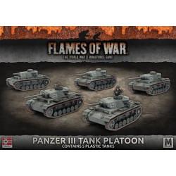 Panzer III Platoon