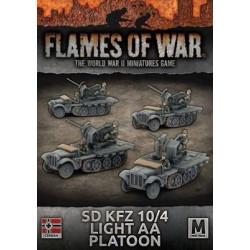 Sd Kfz. 10/4 Light AA Platoon