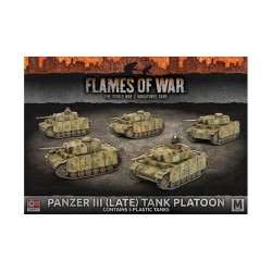 Panzer III (Late) Tank Platoon