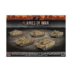 StuG (Late) Assault Gun Platoon (x5 Plastic)
