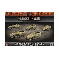 Sd Kfz 251 Half-Tracks (Plastic)