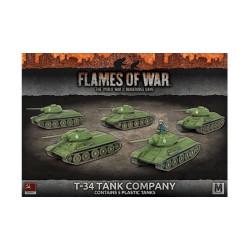 T-34 Tank Company (x5 Plastic)