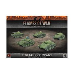 T-70 Tank Company (x5 Plastic)