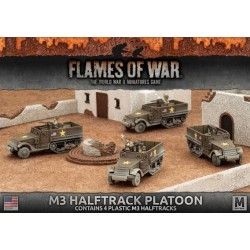 M3 Halftrack Platoon (Plastic)