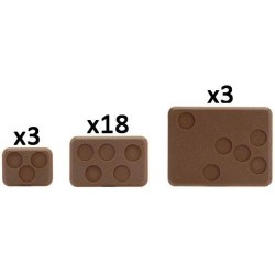 Mixed Bases (with Figure Holes)