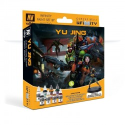 Model Color Set  : Infinity Yu Jing Exclusive Miniature