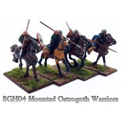 Mounted Ostrogoth Warriors