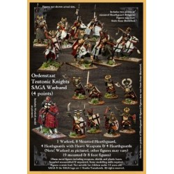 Ordenstaat / Teutonic Knights Warband Starter (4 points)
