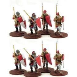 Ordensstaat Warriors on Foot