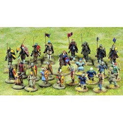 Crusader Starter Warband Starter (Mixed) (4 point)