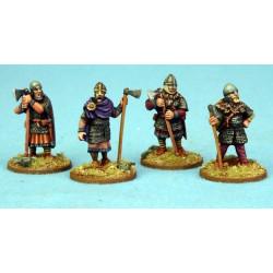Anglo-Danish Huscarls (axes) STANDING (Hearthguard)