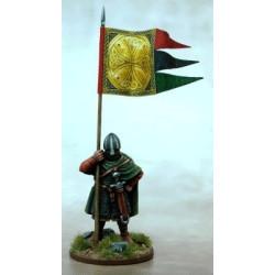 Anglo Danish Warbanner & Bearer