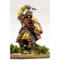 Carolingian Warlord On Foot