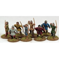 Carolingian Warriors On Foot (Bow)