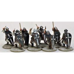 Milites Christi Sergeants (Warriors) on foot