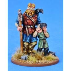Pagan Priest Four - Blind Seer & Small Boy
