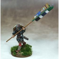 Anglo-Saxon Warbanner & Bearer