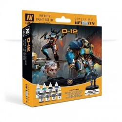 Model Color Set  : Infinity O12 Exclusive Miniature