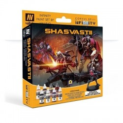 Model Color Set  : Infinity Shasvastii Exclusive Miniature