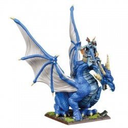 Baslilean High Paladin on Dragon