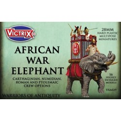 Ancient War Elephant with 4 crew options