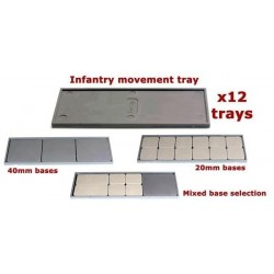 Infantry Movement Trays (x12)