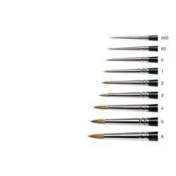 Series 7 Kolinsky Sable Brush 7-2 - Miniature