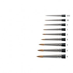 Series 7 Kolinsky Sable Brush 7-000 - Miniature