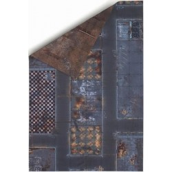 6'x4' Double Sided G-Mat: Quarantine Zone and Fallout Zone