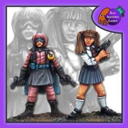 Vigilante School Girls (pack of 2)