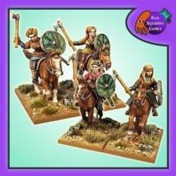 Mounted Shieldmaiden Warriors
