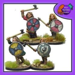 Shieldmaiden Warriors with Axes