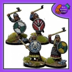 Shieldmaiden Hearthguard with axes