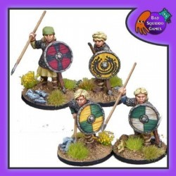 Shieldmaiden Hearthguard with Spears